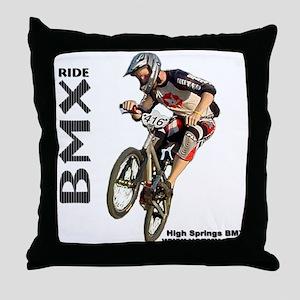 HSBMX416a Throw Pillow