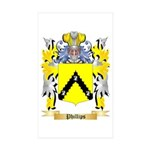 Phillips Sticker (Rectangle 50 pk)