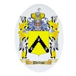 Phillips Oval Ornament