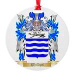 Phillips (Ireland) Round Ornament