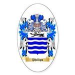 Phillips (Ireland) Sticker (Oval)