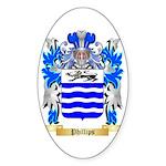 Phillips (Ireland) Sticker (Oval 50 pk)