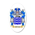 Phillips (Ireland) 20x12 Oval Wall Decal
