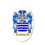 Phillips (Ireland) 35x21 Oval Wall Decal