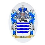 Phillips (Ireland) Oval Ornament