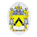 Phillipps Oval Ornament