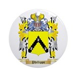 Phillipps Round Ornament