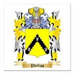 Phillipp Square Car Magnet 3