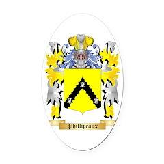 Phillipeaux Oval Car Magnet