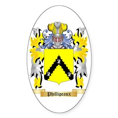 Phillipeaux Sticker (Oval 10 pk)