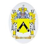 Phillip Oval Ornament