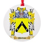Phillins Round Ornament