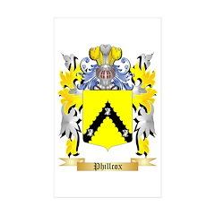 Phillcox Sticker (Rectangle 10 pk)