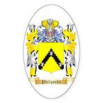 Philipsohn Sticker (Oval 10 pk)