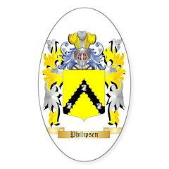 Philipsen Sticker (Oval)