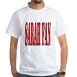 Sarah Fan White T-Shirt