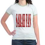Sarah Fan Jr. Ringer T-Shirt