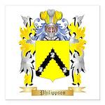 Philippson Square Car Magnet 3