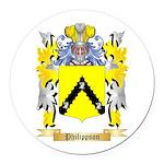 Philippson Round Car Magnet
