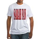 Sarah Fan Fitted T-Shirt