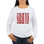Sarah Fan Women's Long Sleeve T-Shirt