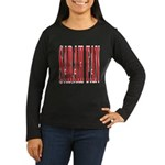 Sarah Fan Women's Long Sleeve Dark T-Shirt