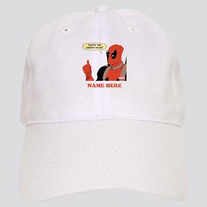 Deadpool Nerds Name Personalized Cap