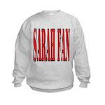 Sarah Fan Kids Sweatshirt