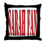 Sarah Fan Throw Pillow