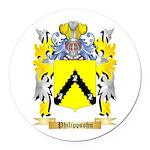 Philippsohn Round Car Magnet