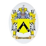 Philippsohn Oval Ornament