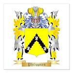 Philippsen Square Car Magnet 3