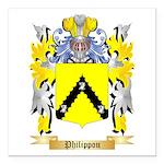 Philippou Square Car Magnet 3