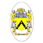 Philippou Sticker (Oval)