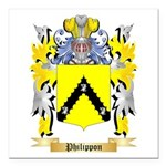 Philippon Square Car Magnet 3