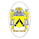 Philippet Sticker (Oval)