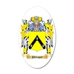 Philippet 35x21 Oval Wall Decal