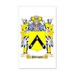 Philippet 20x12 Wall Decal