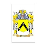 Philippet 35x21 Wall Decal