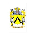 Philippe Sticker (Rectangle 50 pk)