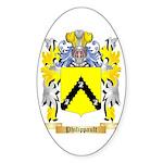 Philippault Sticker (Oval 50 pk)