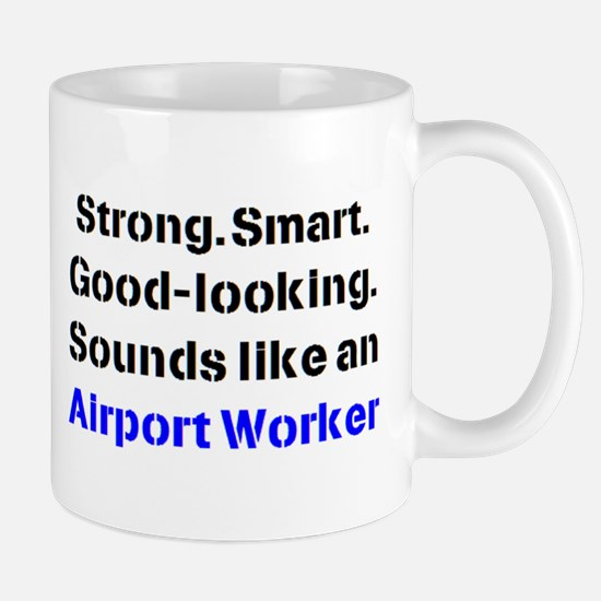 Airport Worker Sound Mug Mugs