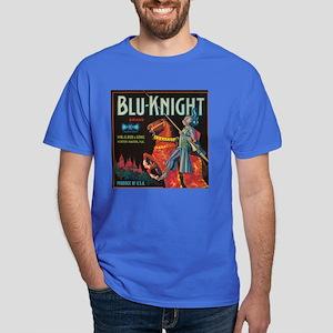 Blu Knight Vintage Crate Labe Dark T-Shirt