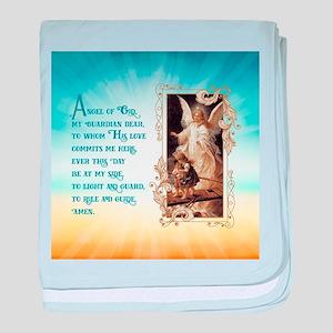 Angel of God (Day) baby blanket