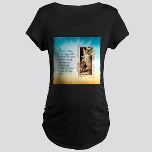 Angel of God (Day) Maternity T-Shirt