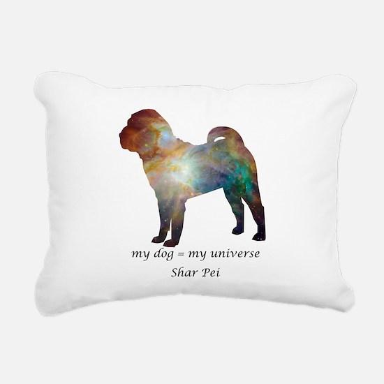 SHAR PEI Rectangular Canvas Pillow