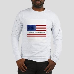 Trump & Putin In 2020 Long Sleeve T-Shirt