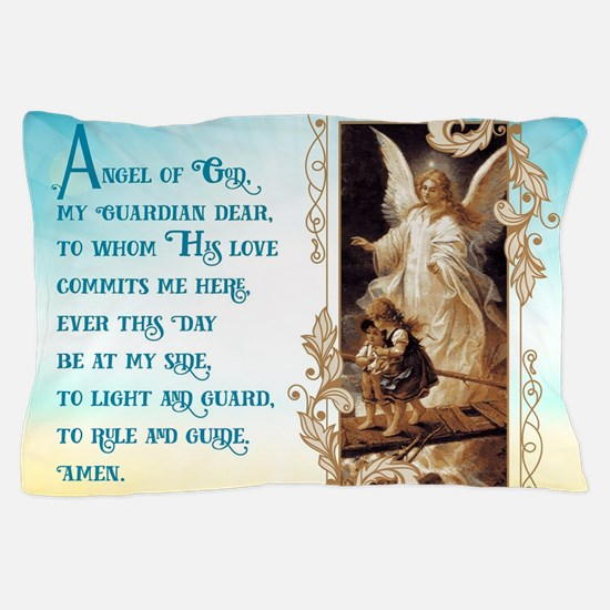 Angel of God (Day) Pillow Case