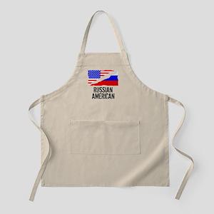 Russian American Flag Apron