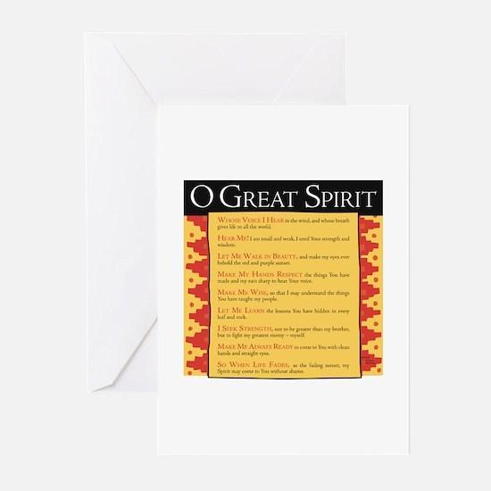 O Great Spirit Greeting Cards (Pk of 20)